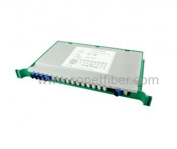 1X4 SC/UPC Tray PLC Splitter