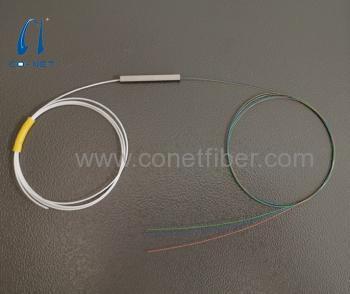 1x3 input 0.9mm output 250um PLC Splitter