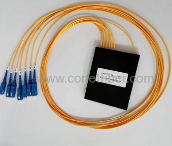 1x6 SC/UPC 2.0mm 1M ABS box