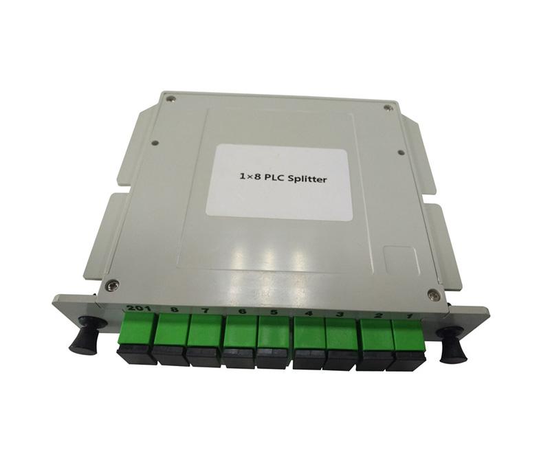 1x8 SC/APC Slot Type PLC splitter