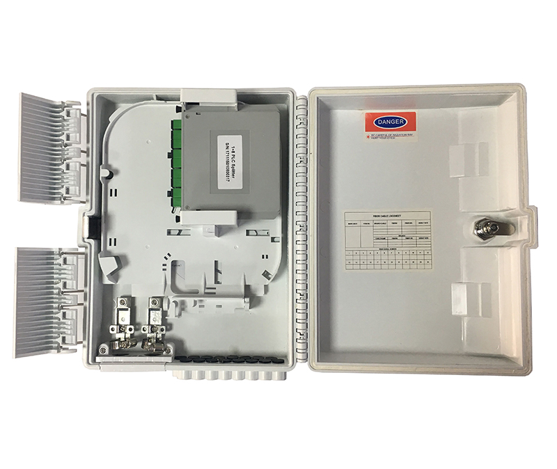 CNT-16G-1 16-core FTTH Terminal Box-Slot Type, New Design