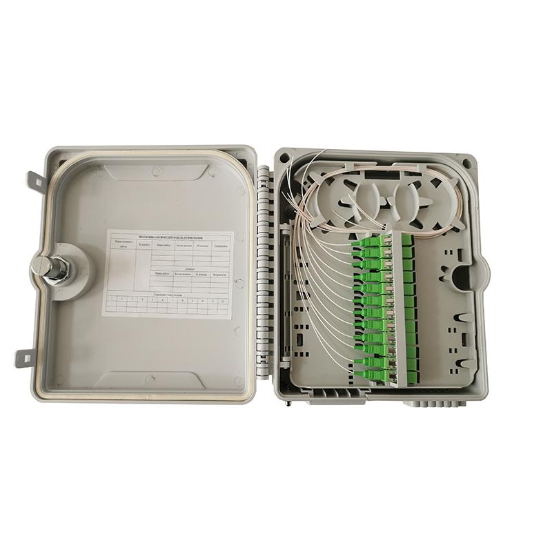 12 core pigtail terminal box