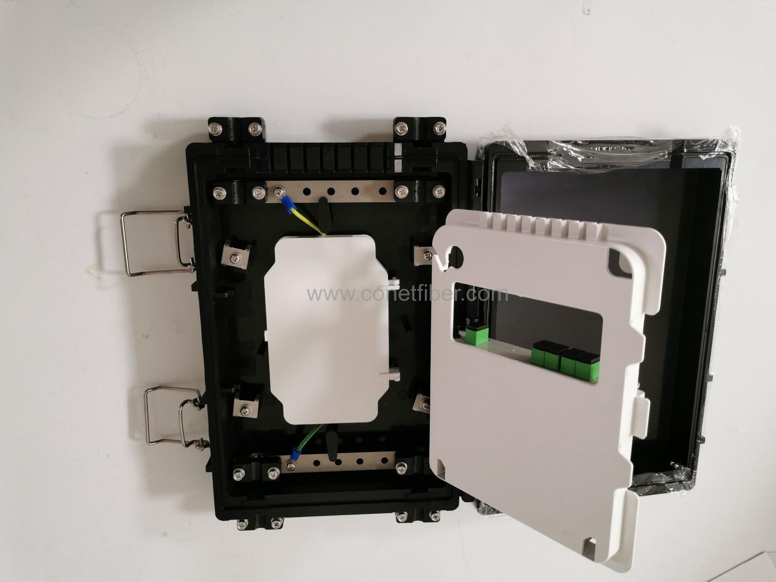 CNT-8P closure with Slot box 12 core